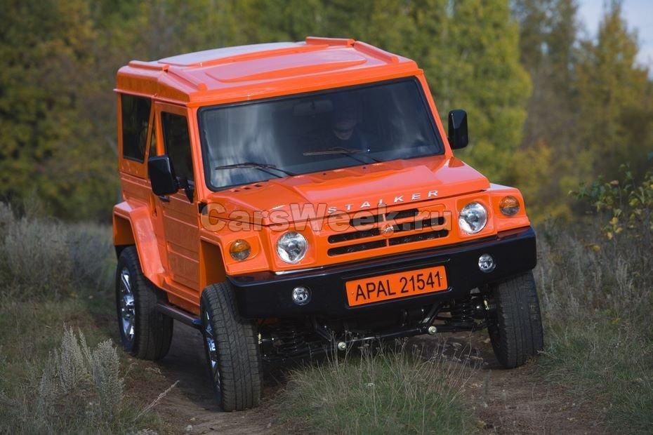 Самый новый вседорожный автомобиль «Сталкер» создают в Российской Федерации набазе «Нивы»