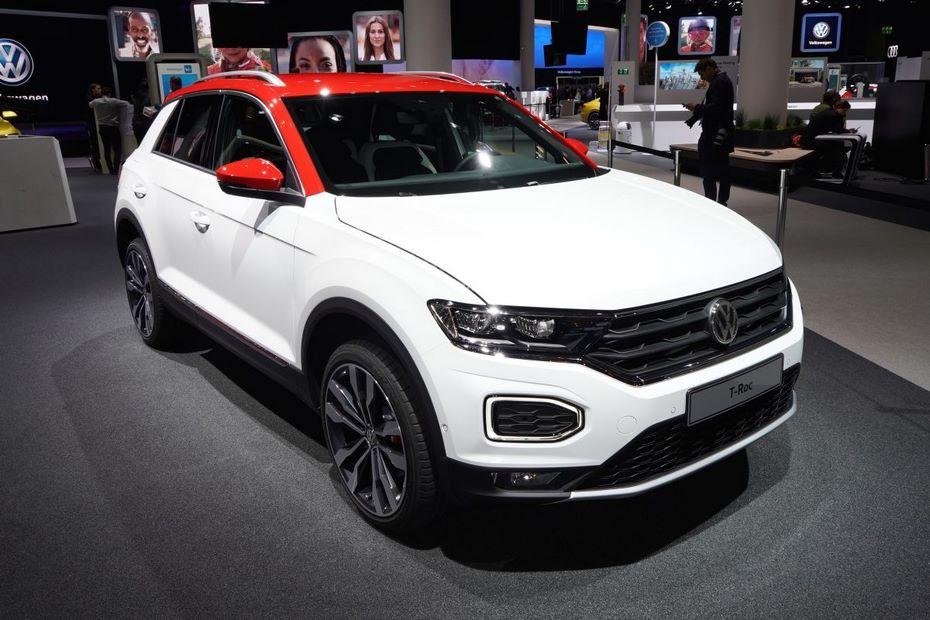Начальная цена нового VW T-Roc 2018 составила 20 390евро