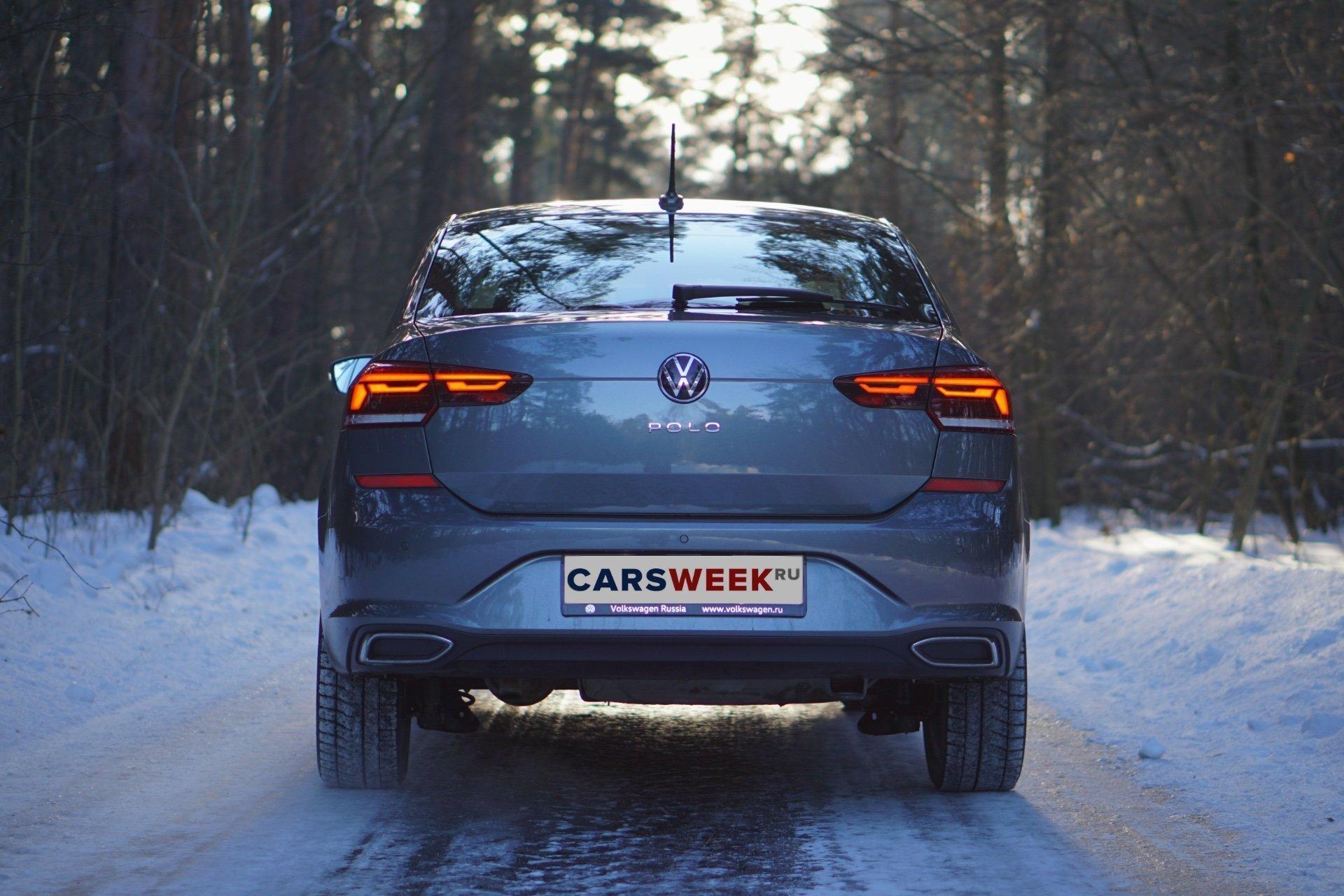 Полуседан: тест Volkswagen Polo