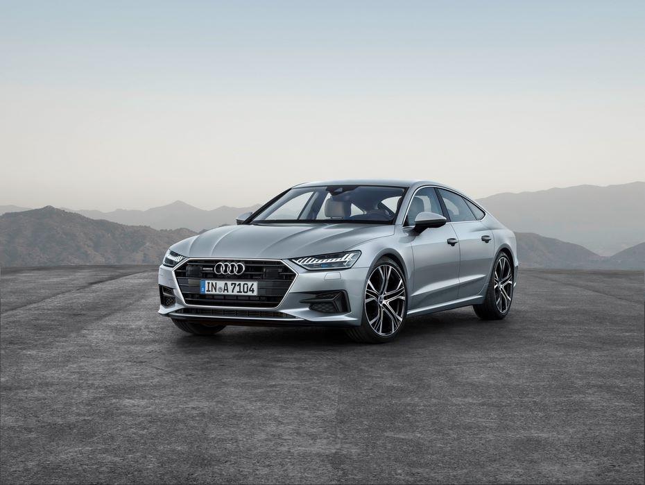 Наавтомобильном шоу  вДетройте дебютирует элегантное  купе 2019 Ауди  A7 Sportback
