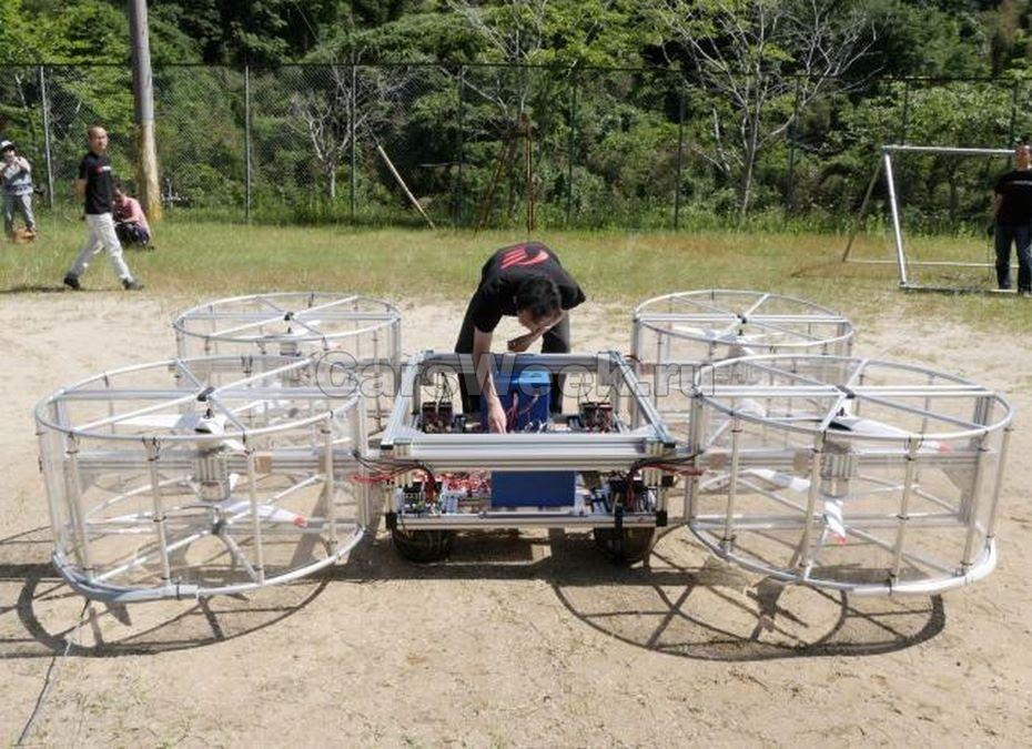 Тоёта протестировала прототип своего летающего автомобиля