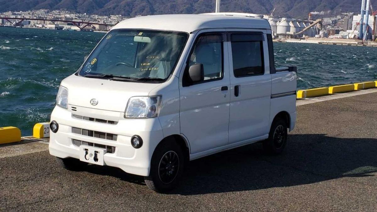Daihatsu HiJet или самый забавный грузовик в мире