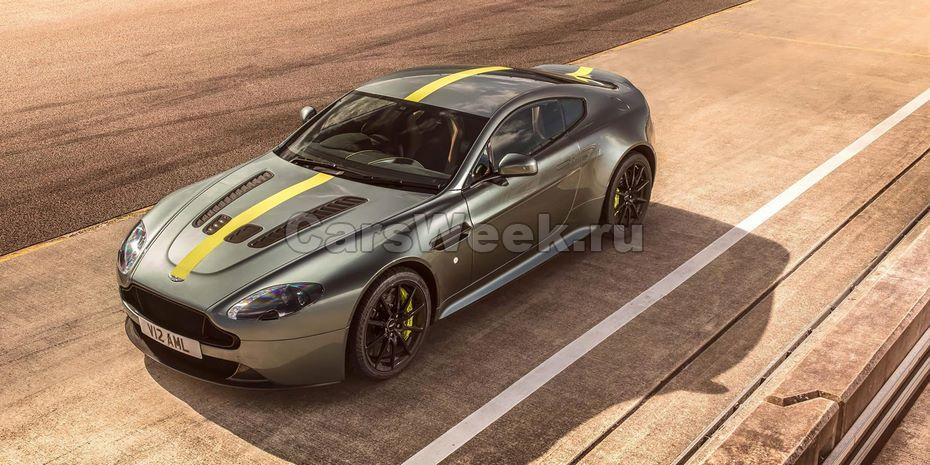 Aston Martin Vantage будет выпущен в лимитированной версии