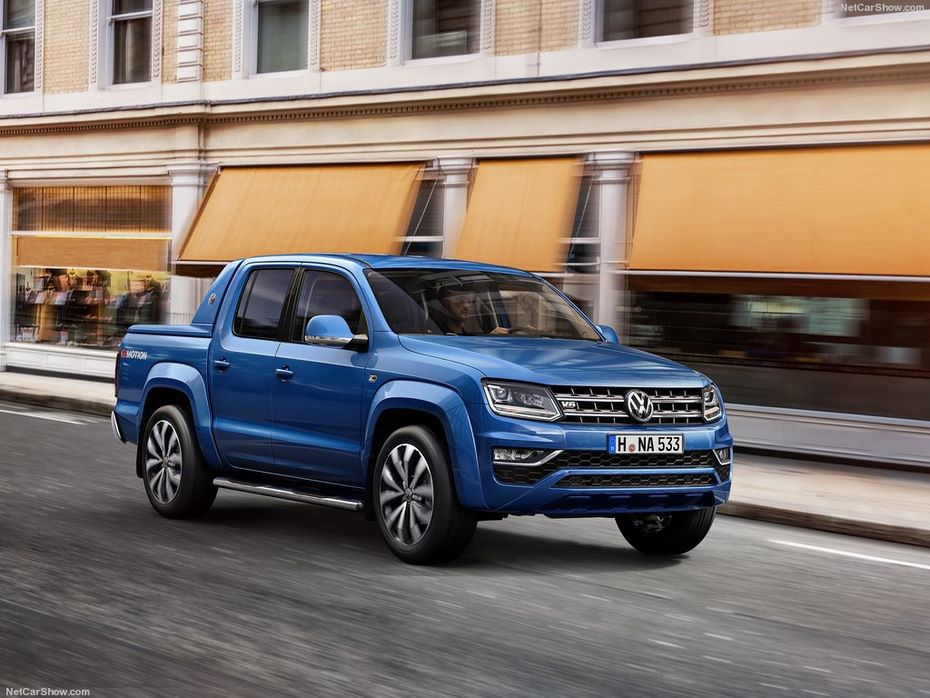 VW отзывает вРФ 137 пикапов Amarok из-за риска утечки масла