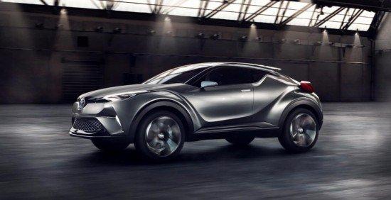 У кроссовера Toyota C-HR появится спортивная версия