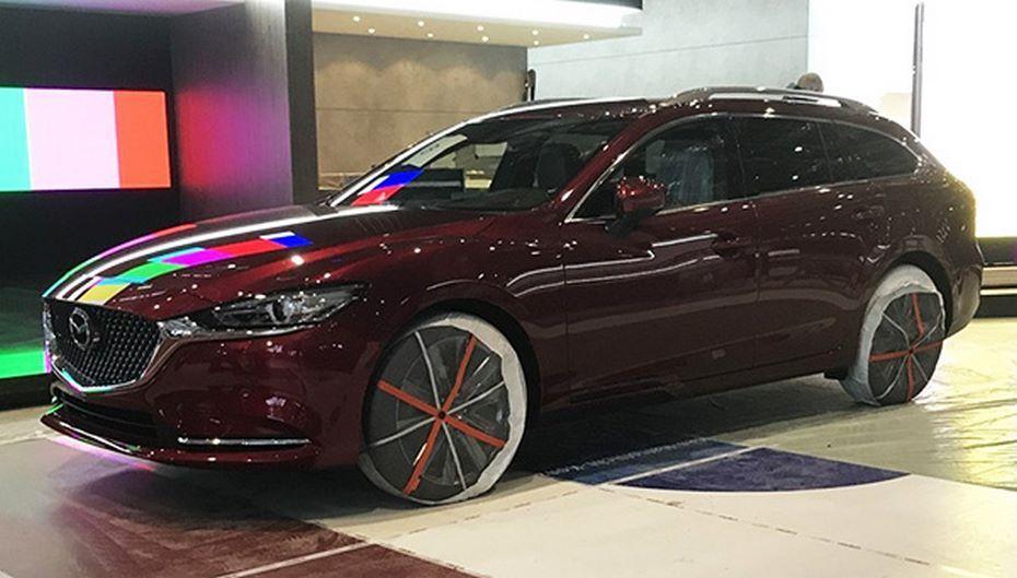 Универсал Mazda 6 2019 модельного года впервые показался на живых