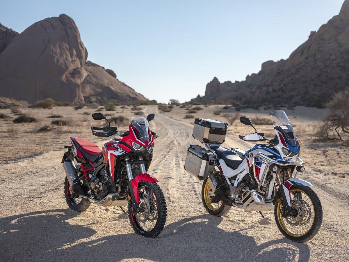 Турэндуро Honda CRF1100L Africa Twin получил рублёвый ценник