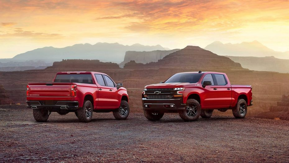 Chevrolet Silverado новая версия внедорожного пикапа полностью рассекречена