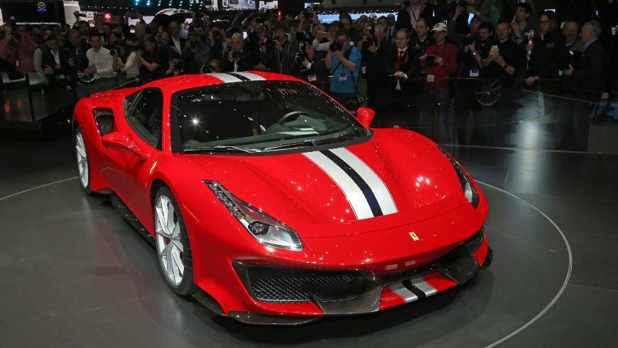 Мотор Ferrari V8 победил в номинации «двигатель года»