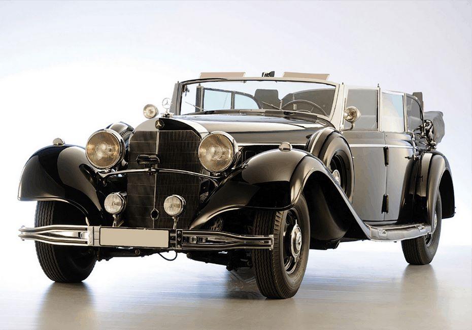Реализуют неповторимый Mercedes Адольфа Гитлера