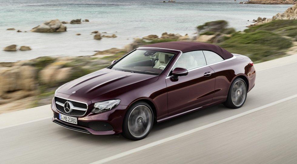 Benz продемонстрировал кабриолет Е-класса