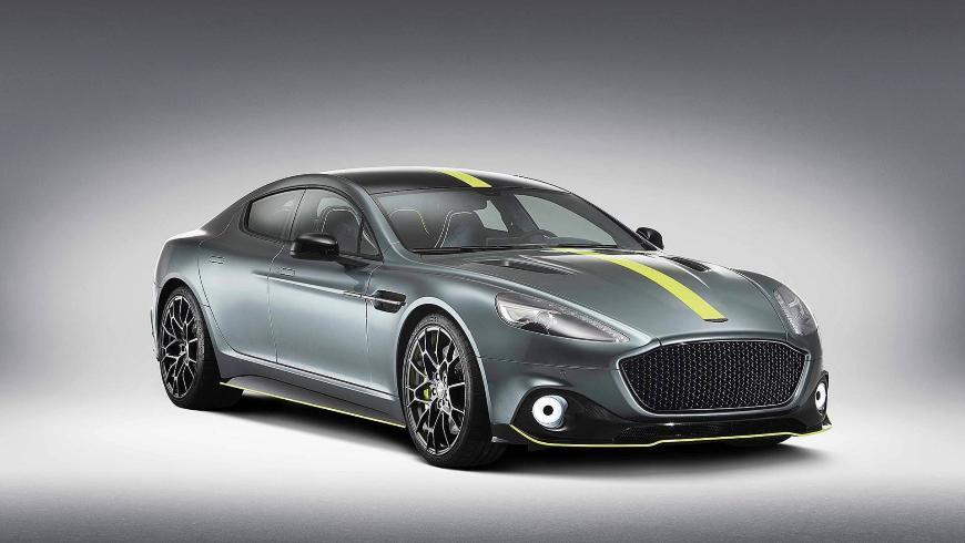 Aston Martin рассказал о своём новом купе Rapide AMR