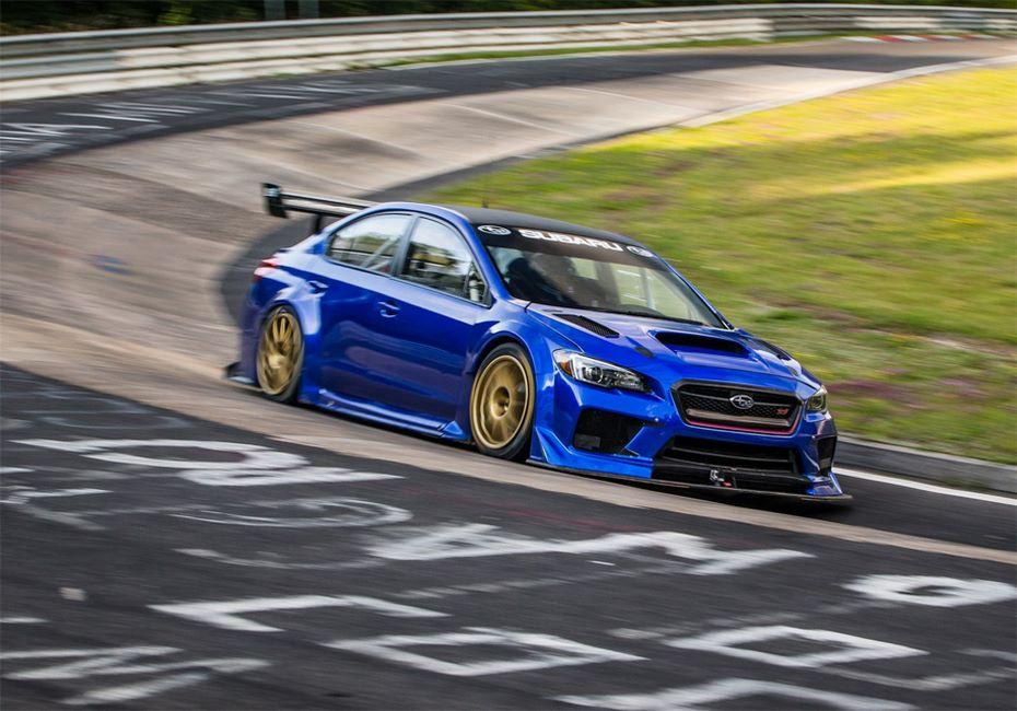 Всети обнародовали видеоролик рекордного заезда Subaru WRX STI