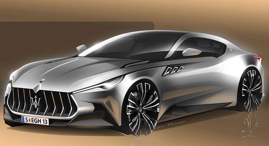 Будущий электрокар Maserati Alfieri получит трехмоторную компоновку