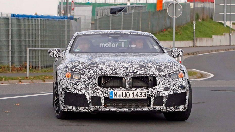 Серийное купе BMW 8 Series проходит тесты вНюрбургринге