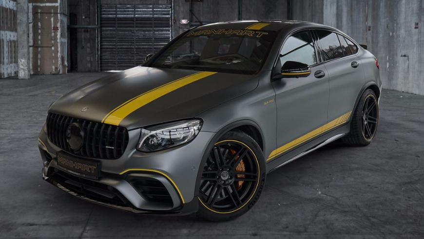 Тюнеры из Manhart Racing добавили мощности Mercedes-AMG GLC 63 S
