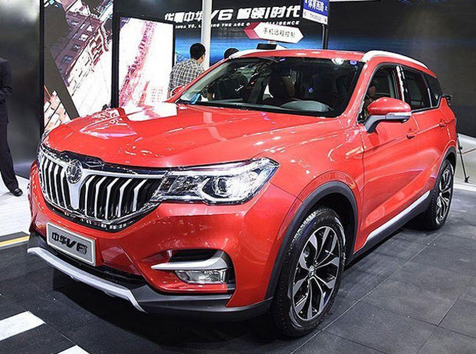 ВГуанчжоу представлен новый кроссовер Brilliance V6