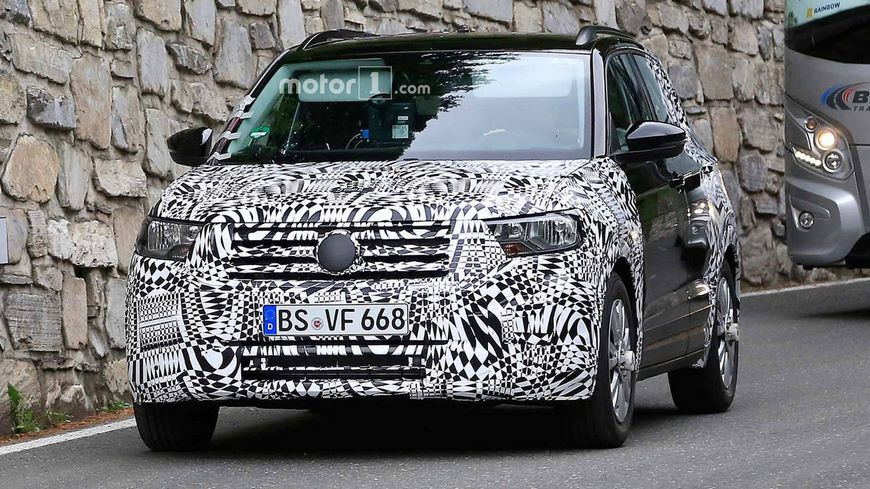 Volkswagen T-Cross получит мотор отPolo class=