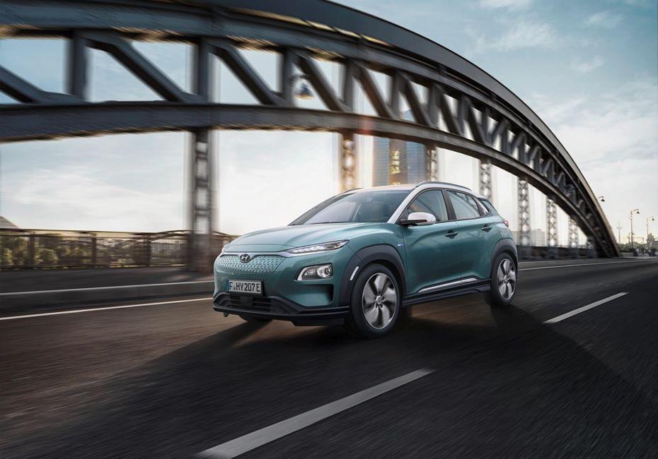 Hyundai представила свой первый электрокроссовер Kona