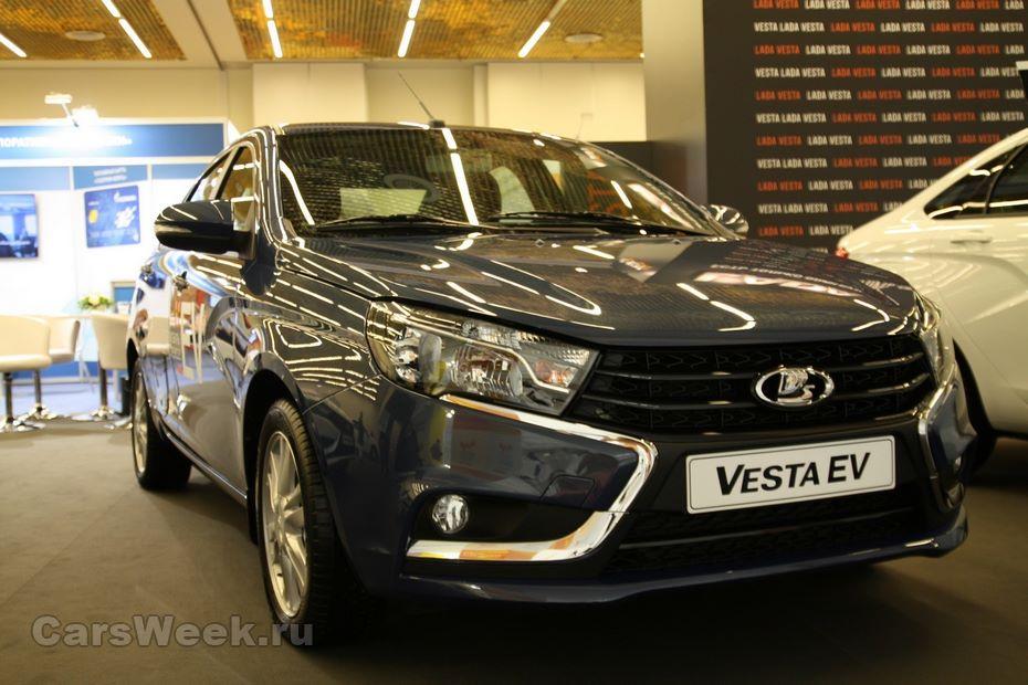 ВКазахстане продана первая Лада VestaEV сэлектромотором