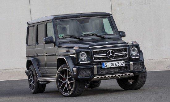 Mercedes-Benz представил новое поколение легендарного внедорожника G63