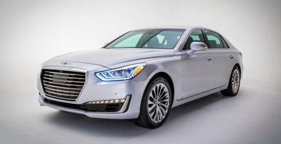 На Детройтском автосалоне состоялась премьера Hyundai GENESIS G90