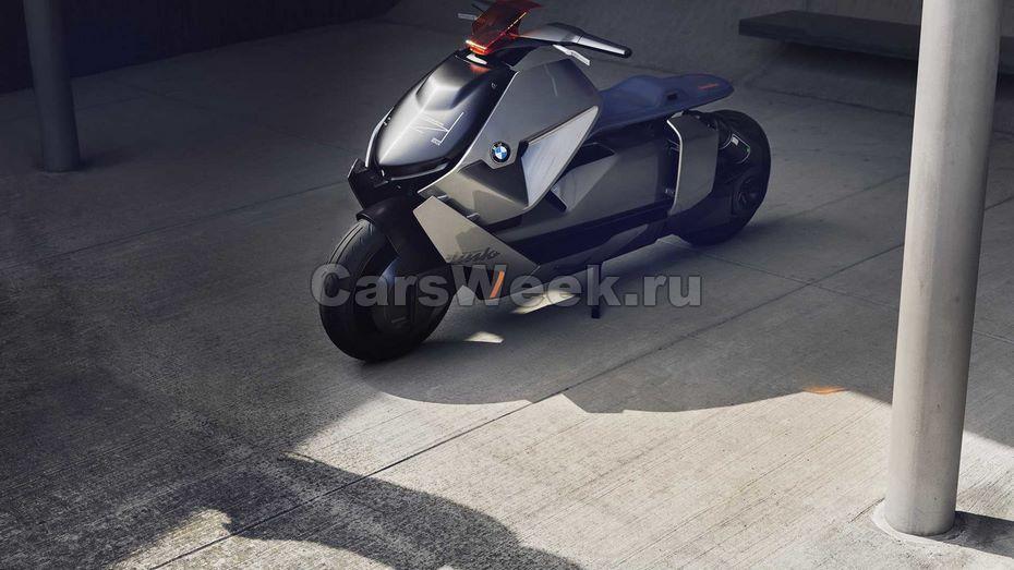 БМВ представила общественности городской мотоцикл будущего
