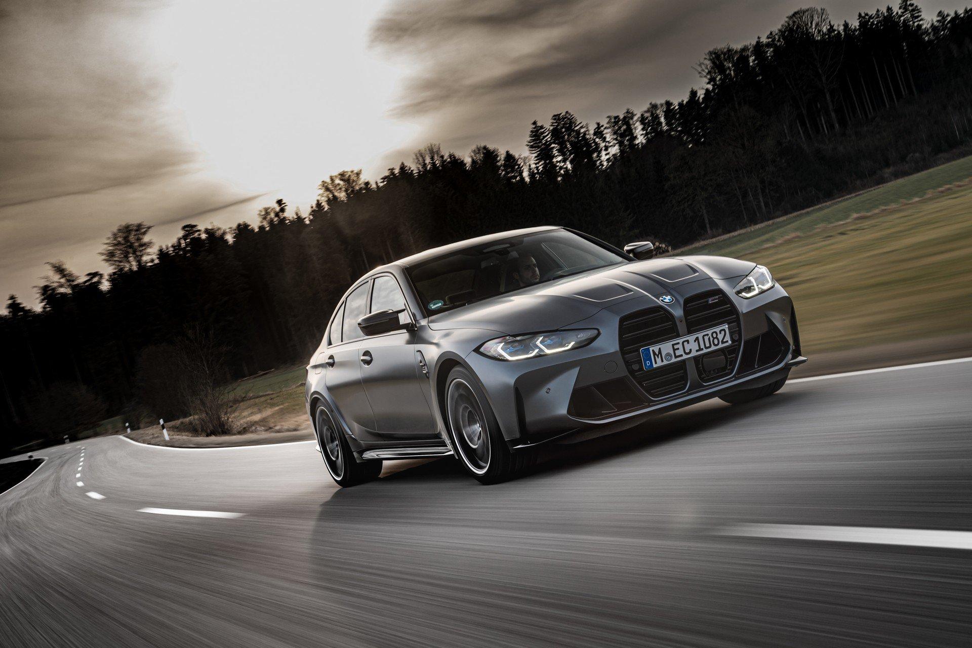Концерн BMW готовится к выпуску самого дорогого исполнения седана M3 CS