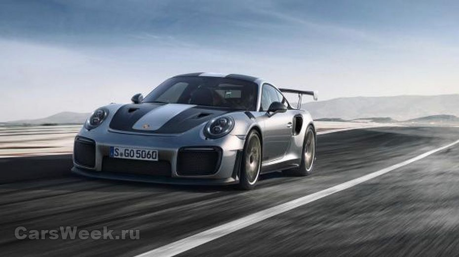 ВНюрбургринге Порше 911 GT2 RSустановил новый рекорд поскорости