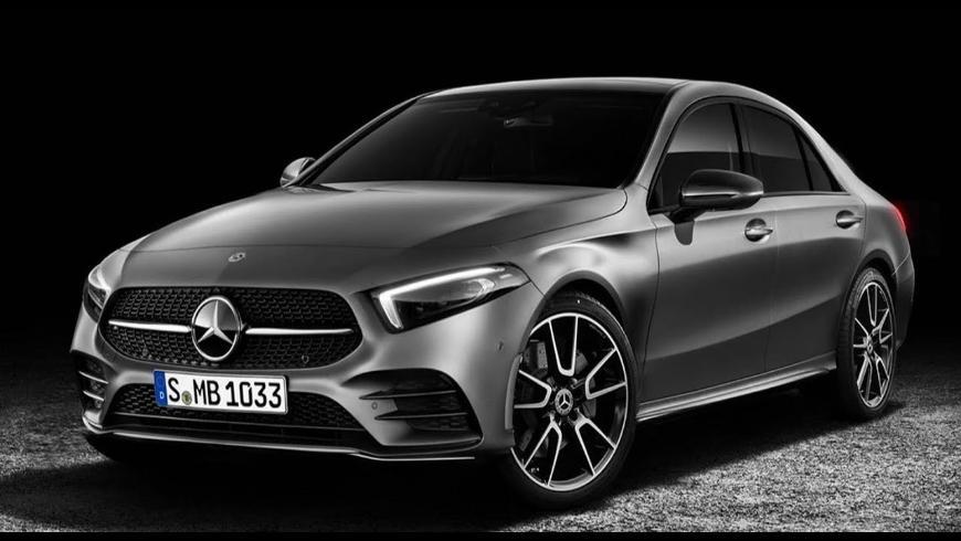 Замечена европейская версия Mercedes A-Class Sedan
