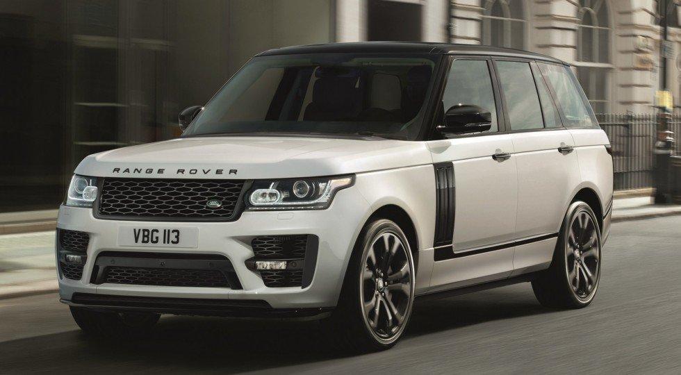 Лэнд Ровер представил заводской обвес для Range Rover