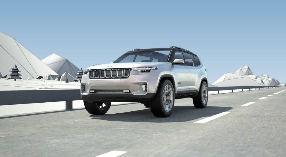 ВШанхае показали новоиспеченный кроссовер Jeep Yuntu