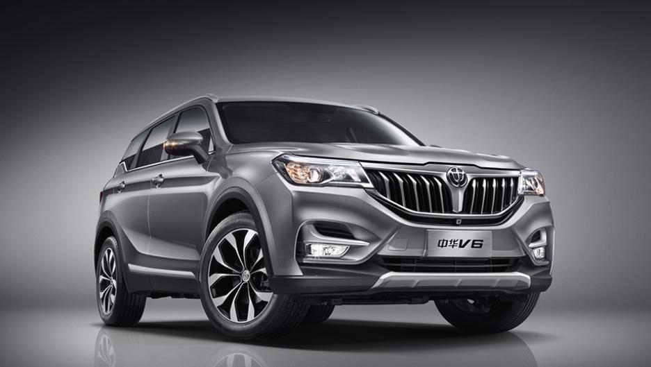 Китайский вседорожный автомобиль Brilliance V6 оценили в800 тыс. руб.