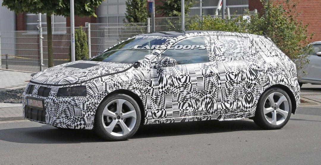 VW представит новый тип Polo всередине июля