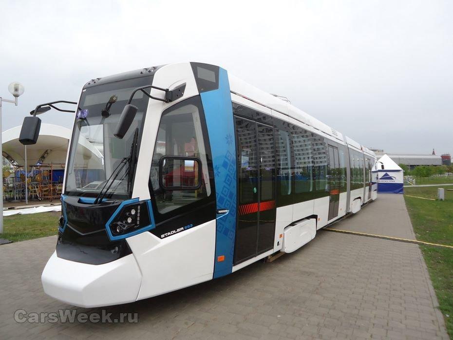 Новые трамваи Stadler завоевали популярность ибудут поставляться вСанкт-Петербург