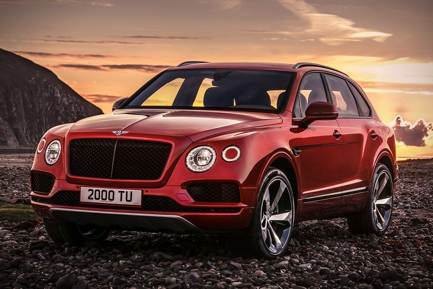 Спортверсия Bentley Bentayga V8 уже в России