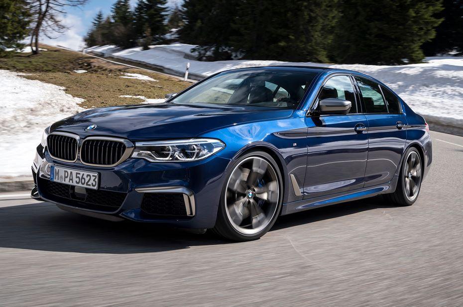BMW приостановила производство заряженного седана M5
