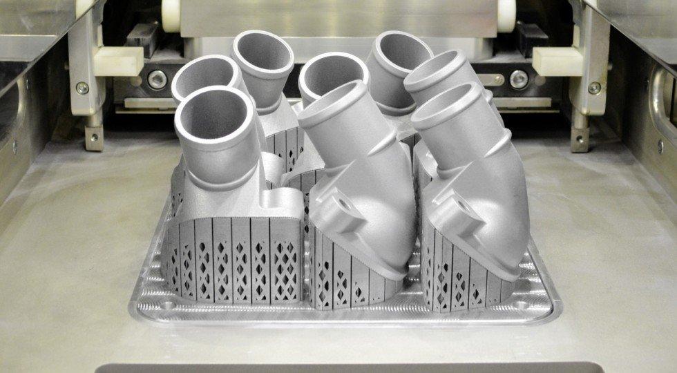 Benz запустил 1-ый 3D принтер пометаллу