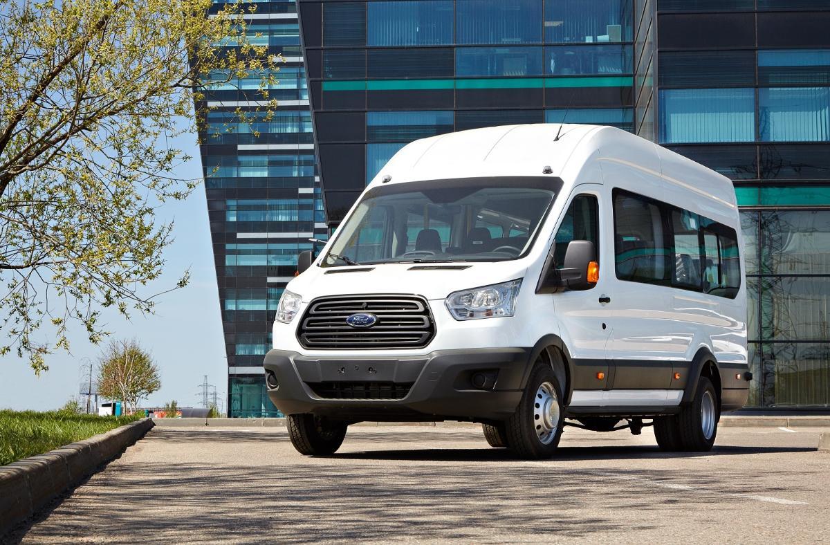 Ford Transit установил рекорд продаж машин в России за первый квартал 2021 года