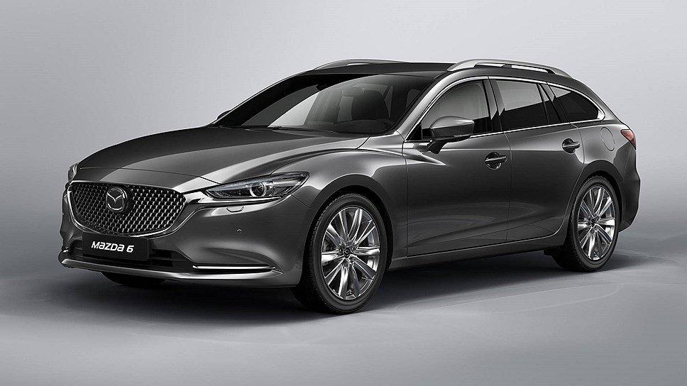 Mazda 6 в кузове универсал покажут