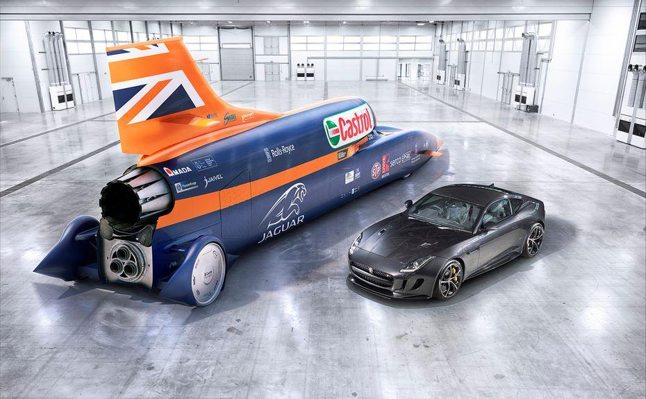 Болид Bloodhound Supersonic Car хотят разогнать до800 км/ч