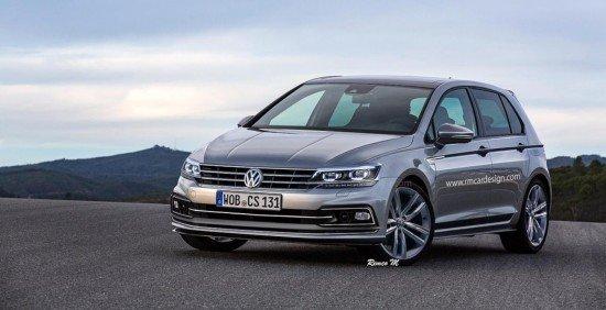 Вweb-сети появился 1-ый рендер VW Golf 8