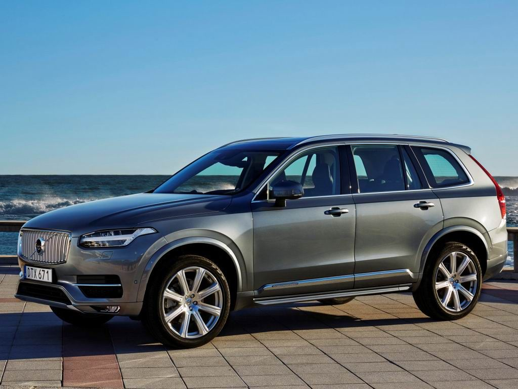 Модель Вольво XC90 2019 модельного года получит электродвигатель вместо дизеля