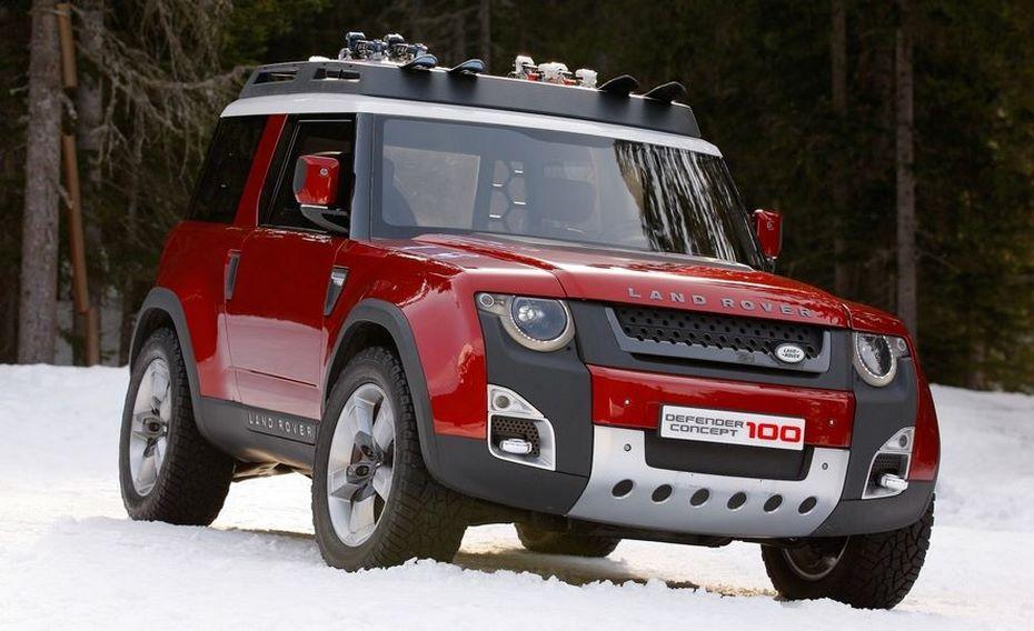 Следующее поколение Лэнд-Ровер Defender получит электрический двигатель
