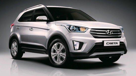В России начался приём заказов на кроссовер Hyundai Creta