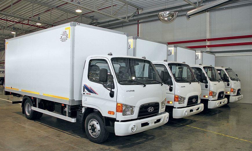 На «Автоторе» запустили производство полного цикла фургонов Хендай HD65