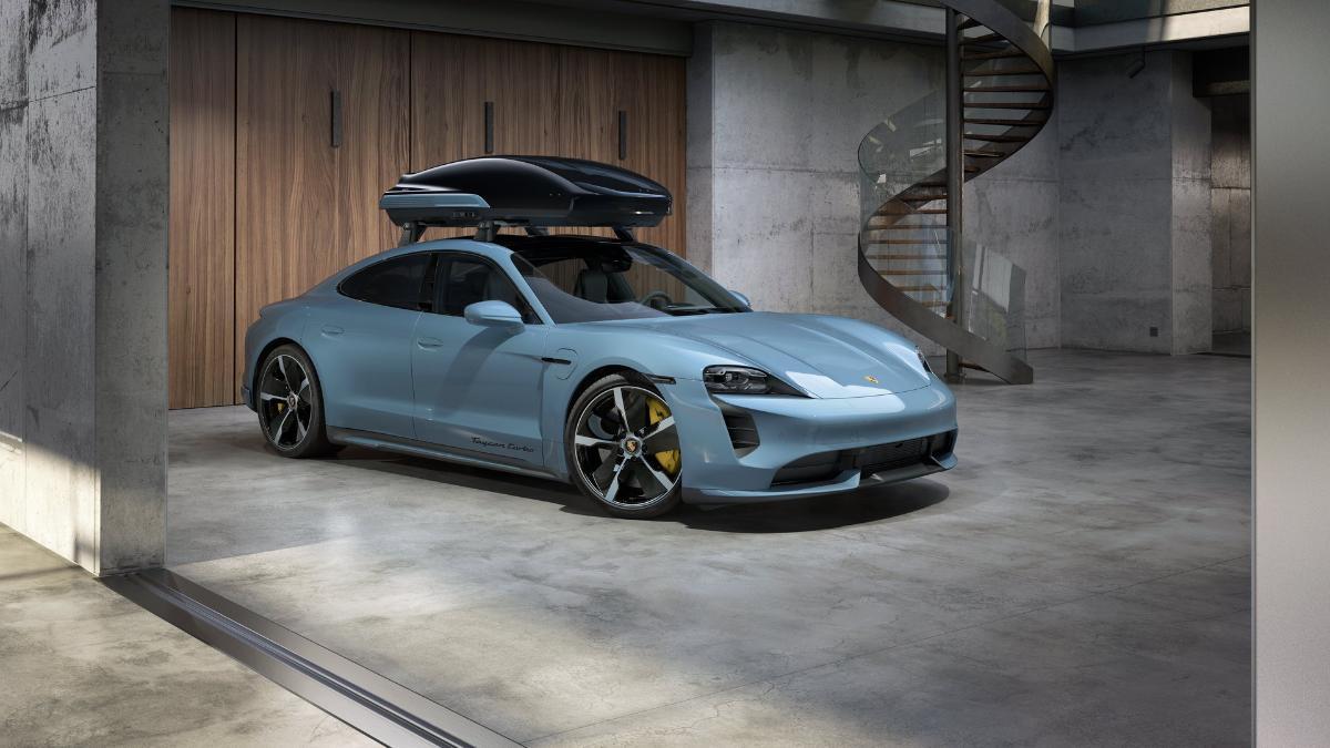 Porsche показал новый багажник на крышу с потрясающими аэродинамическими свойствами