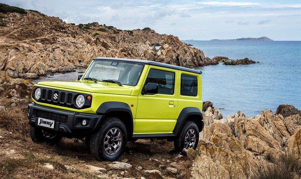Suzuki Jimny будет собираться в Индии для экспортных нужд