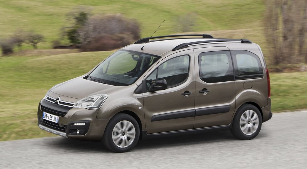 В Россию вернулась дизельная версия минивэна Citroen Berlingo Multispace