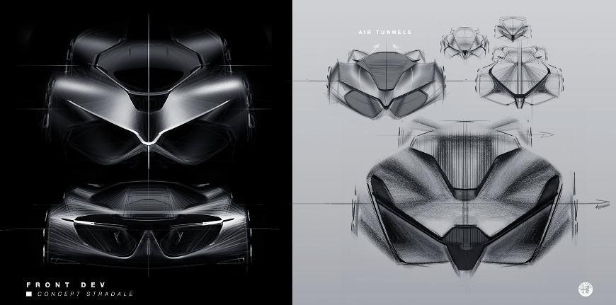Alfa Romeo представила концепт собственного гиперкара Stradale